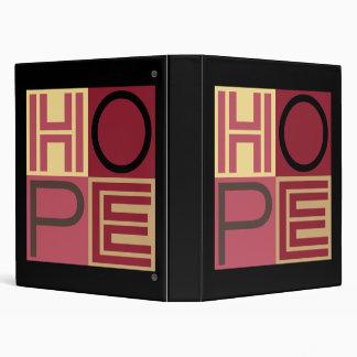 HOPE BINDERS