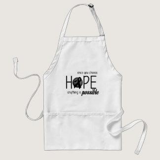 Hope (Black) Adult Apron