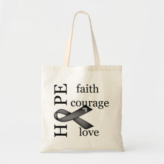 Hope (Black) Canvas Bags