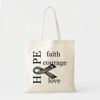 Hope (Black) Canvas Bags