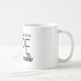 Hope (Black) Coffee Mug