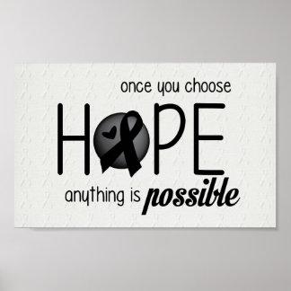 Hope (Black) Posters