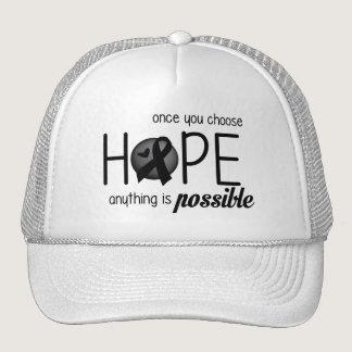 Hope (Black) Trucker Hat