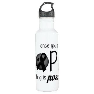 Hope (Black) Water Bottle