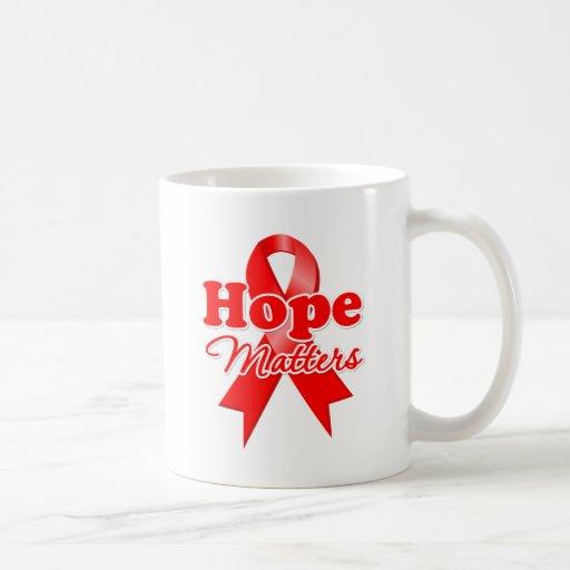 Hope Blood Cancer Coffee Mugs