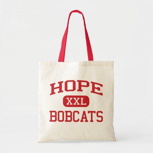 Hope - Bobcats - Hope High School - Hope Arkansas Budget Tote Bag