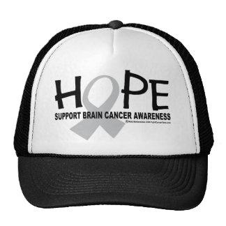 Hope Brain Cancer Trucker Hat