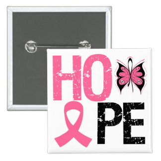 Hope Breast Cancer Awareness Pins