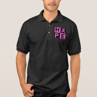 Hope Breast Cancer Awareness Polo