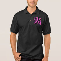 Hope Breast Cancer Awareness Polo Shirt