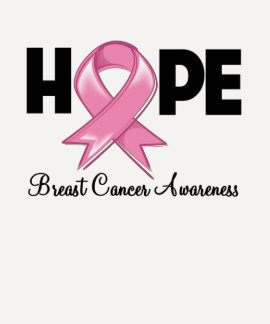 Hope Breast Cancer Awareness Tee Shirt