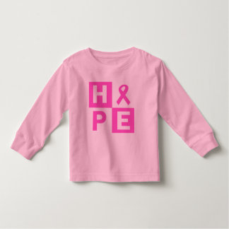 Hope Breast Cancer Awareness Toddler T-shirt