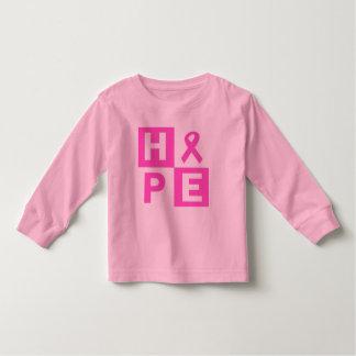 Hope Breast Cancer Awareness Toddler T-shirt