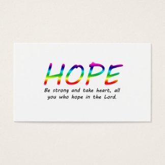 Hope Business Card