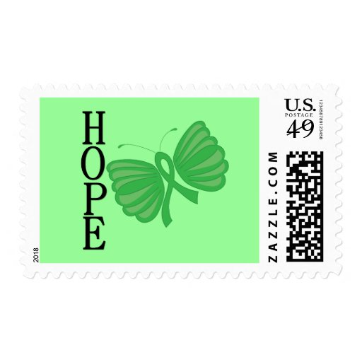 Hope Butterfly Bone Marrow & Stem Cell Transplant Postage Stamps