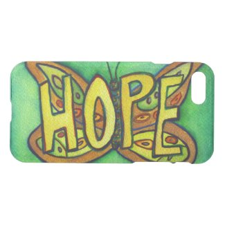 Hope Butterfly Inspirational Word Phone Cases