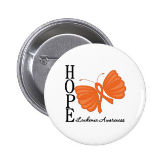 Hope Butterfly Leukemia Pins