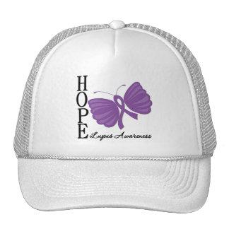 Hope Butterfly Lupus Trucker Hat