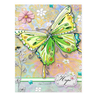 Hope Butterfly Postcard