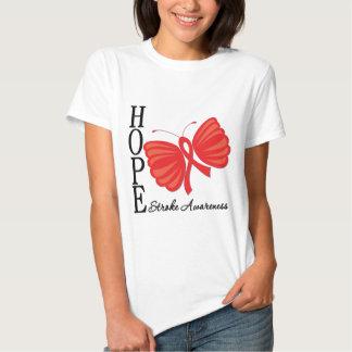 Hope Butterfly Stroke Awareness Shirt