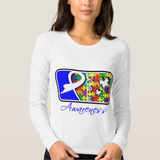 Hope Butterfly Tile Card Autism Shirts
