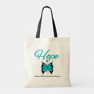 Hope Butterfly Tourette Syndrome Tote Bag