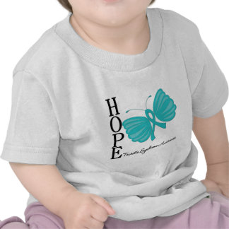 Hope Butterfly Tourette Syndrome T Shirts