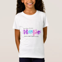Hope Cancer Awareness  Tshirt - Thyroid Cancer