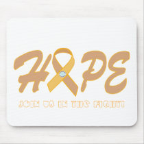 HOPE - Cancer Products Mouse Pad