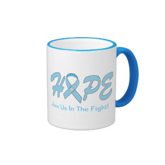 HOPE - Cancer Products Ringer Coffee Mug