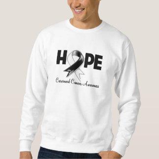 Hope Carcinoid Cancer Awareness Pullover Sweatshirt