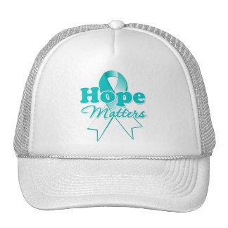 Hope Cervical Cancer Hats