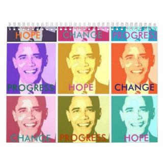 HOPE & CHANGE CALENDAR 2010