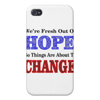 Hope Change iPhone 4 Cover