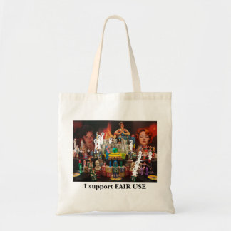 Hope, Charity, and Jade FAIR USE Tote Budget Tote Bag