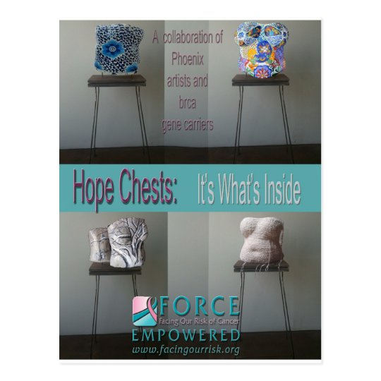 HOPE CHESTS...it's what's inside Postcard