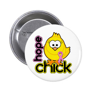 Hope Chick Button