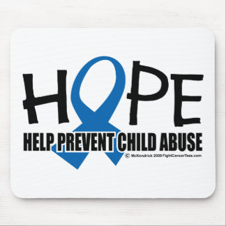 Hope Child Abuse Mouse Pad