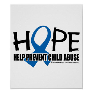 Hope Child Abuse Poster