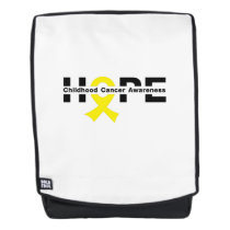 Hope Childhood Cancer Awareness Gifts Backpack