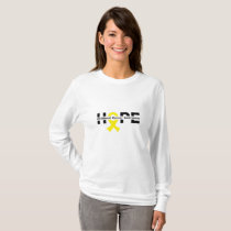 Hope Childhood Cancer Awareness Gifts T-Shirt