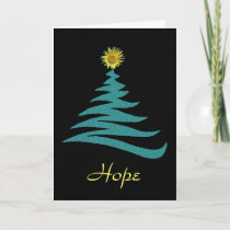 Hope Christmas Greeting Card