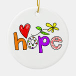 Hope Christmas Tree Ornament