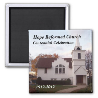 Hope Church.jpg, Hope Reformed Church, Centenni... Magnet