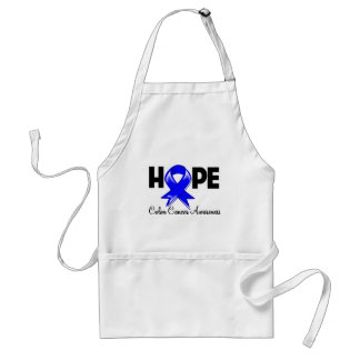 Hope Colon Cancer Awareness Adult Apron