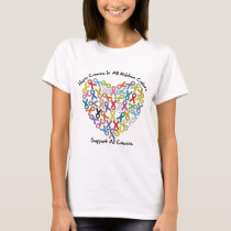 Hope Comes In All Ribbon Colors T-Shirt