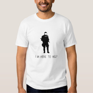HOPE COP I am here to help T-Shirt