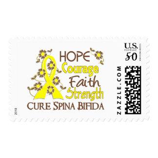Hope Courage 3 Spina Bifida Postage