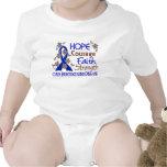 Hope Courage Faith Strength 3 Huntington's Disease Shirts