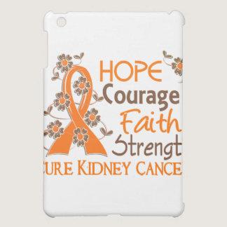 Hope Courage Faith Strength 3 Kidney Cancer Cover For The iPad Mini